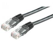 Cable, Roline VALUE S/FTP Patch, Cat.6, PiMF, черен, 5м (21.99.1365)
