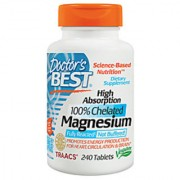 DoctorS Best High Absorption Chelated Magnesium - 240 Tablets