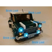 Mini Cooper Lighting Kit for Lego 10242 (Lego set not included) by Brick Loot