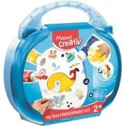 Kreatív készségfejlesztő készlet, MAPED CREATIV, Early age, varázslatos festékvilág (IMAC907004)