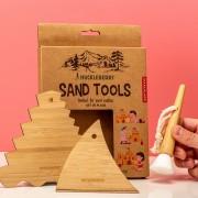 Kikkerland Sand Tools (set van 3)