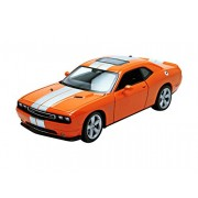 2013 Dodge Challenger SRT Orange 1 24 by Welly 24049