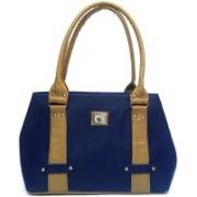 Bizarre Vogue Women Tan, Blue Hand-held Bag