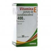 Vitamina E 400 Mg / 30 Capsulas Sandoz
