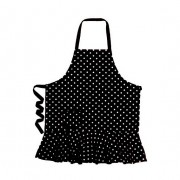 Apron - Black Polka Dot Hostess by Annabel Trends