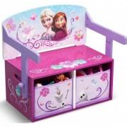 Mobilier 2 in 1 pentru depozitare jucarii Disney Frozen Delta Children