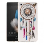 Huawei P8 Lite Colour Bell Pattern IMD Workmanship Soft TPU Protective Case