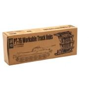 Trumpeter 1/35 PT76 Workable Track Link Set (180 Links)