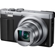 "Aparat Foto Digital Panasonic DMC-TZ70EP-S, 12.1 MP, 1/2.3"" CMOS, Filmare Full HD, Zoom Optic 30x (Argintiu)"