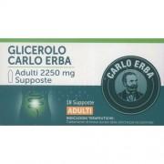 Glicerolo Carlo Erba Adulti 18 Supposte 2250 mg