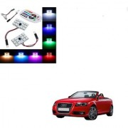 Auto Addict Car 12 LED RGB Roof Light with IR Remote Car Fancy Lights For Audi A3 Cabriolet