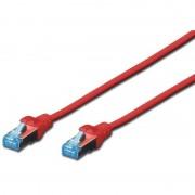 Patch Cord UTP, Premium, RJ45, Cat.5e, 1m, Rosu