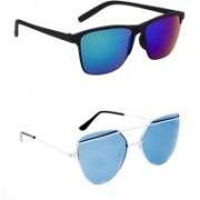 Rich Club Cat-eye, Wayfarer Sunglasses(For Boys & Girls)