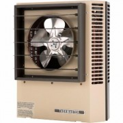 TPI Fan-Forced Electric Heater - 7,500 Watt, 25,600 BTU, Model HF2B5107CA1L