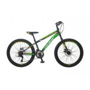 Polar SONIC DISK 24 MTB Junior Black-green (B242S32180)