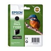 Epson UltraChrome Hi-Gloss2 T1591 Original Ink Cartridge - Photo Black