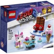 LEGO® Movie - Cei mai simpatici prieteni ai lui Unikitty! 70822