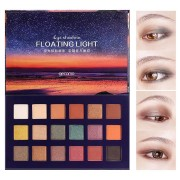 18 Colors Sunset Eye Shadow Palette Smoky Shimmer Matte