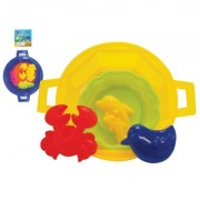 Beach Bucket Sandbox Play Set