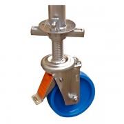 КОЛЕЛО ЗА СКЕЛЕ Ф150ММ CLIM TEC (с регулираща се височина)