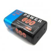 Acumulatori baterii reincarcabile 9V 600 mAh NiMh