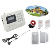 Kit antifurto Gsm wireless 1 sensore di movimento 2 uscite Lan e dialing automatico