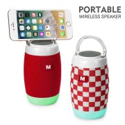 Boxa portabila cu suport telefon si jocuri de lumini, functie bluetooth, redare USB, card, Radio, Aux