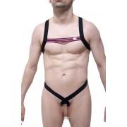 Petit-Q Borvo Racer O Ring Harness Black/Pink PQ180614P
