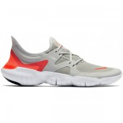 Nike Free Run 5.0 Men - Male - Wit / Grijs - Grootte: 47