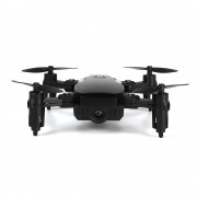 LF606 Mini Quadcopter Foldable RC Drone without Camera One Battery Support One Key Take-off / Landing One Key Return Headless Mode Altitude Hold Mode(Black)