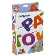 Miniland Lacing Letters: 26 Letters + 6 Laces/Box