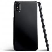 Husa Silicon Neagra - iPhone X / XS