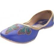 Tamanna butterfly Bellies For Women(Blue)