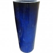 The Pot Co Clay Glazed Tall Round Planter Available in a Range of Sizes and Colours