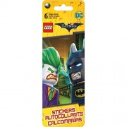 Lego Flip Pack Stickers 6 Sheets - Dc The Batman Movie (Pack of 6 )