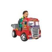 Caminhão Elétrico Big Truck Vermelho 6V - Magic Toys