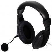 Casti gaming Spacer SPK-222 Black