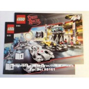 "INSTRUCTION MANUALS for Lego Racers Set #8161 ""Grand Prix Race"""