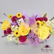 Cutie flori de liliac CTF006