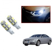 Auto Addict Car T10 9 SMD Headlight LED Bulb for Headlights Parking Light Number Plate Light Indicator Light For Audi A6