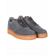 Nike Air Force 1 '07 LV8 Trainers - Flat Pewter/Gum Colour: Flat Pewte