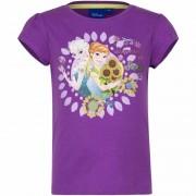 Disney Paars t-shirt Frozen voor meisjes