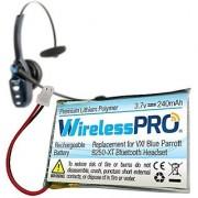 Wireless Pro Premium Replacement Rechargeable Battery for VXI Blue Parrott B250-XT B250-XT+ Wireless Bluetooth Headset R