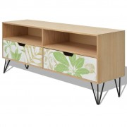 vidaXL TV Cabinet MDF 120x30x50 cm Brown