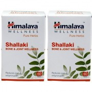 Himalaya Shallaki Bone and Joint Wellness Tablets (60 Pieces) Pack Of 2