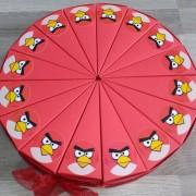 Angry Birds torta od kartona