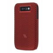 Slim Mesh Case for Nokia E63 - Nokia Hard Case (Burgundy Red)