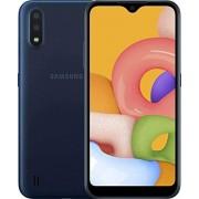 """Samsung Galaxy A01 32 GB/2 GB RAM (SM-A015M/DS) Dual SIM, visualización de 5,5"""", GSM desbloqueado, versión internacional, color azul"""