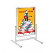 Edimeta Stop-trottoir vertical Cadro-Clic® 100 x 70 cm