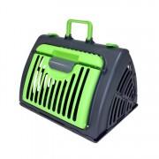 Cusca Pliabila Ventilata pentru Transport Caini, Pisici sau Alte Animale de Companie, Dimensiuni 48x40x11cm